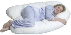 U letter pregnancy pillow