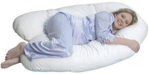 U letter pregnancy pillow