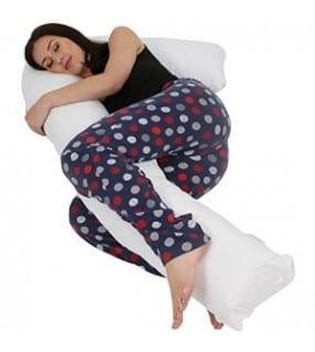 Flexible full length pregnancy pillow