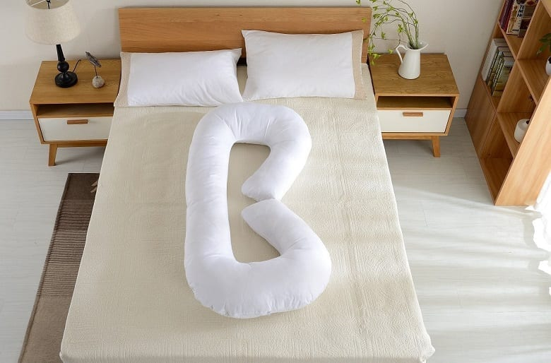 Letter Shaped Pillow