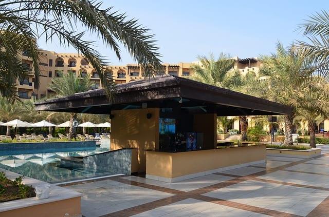hilton hotel UAE pool