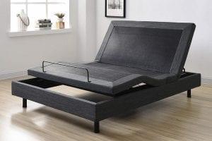Grey Adjustable Bed