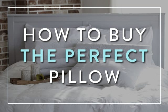 How to Choose Perfect Pillow