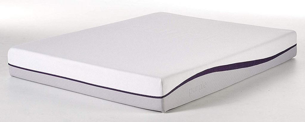 Purple Queen Mattress Hyper-Elastic Polymer Bed Supports Your Back Like A Firm Mattress