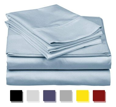 True Luxury 1000-Thread-Count 100% Egyptian Cotton Bed Sheets