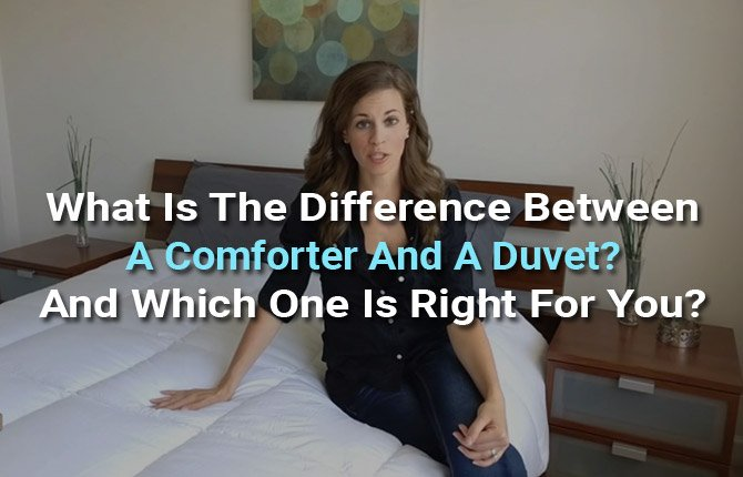 What Is The Difference Between A Comforter And A Duvet And Which One Is Right For You