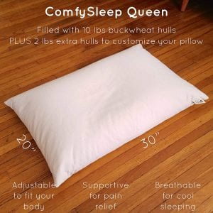 best buckwheat pillow