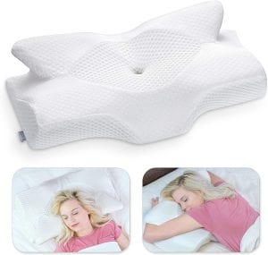 amazing pillow for stomach sleepers