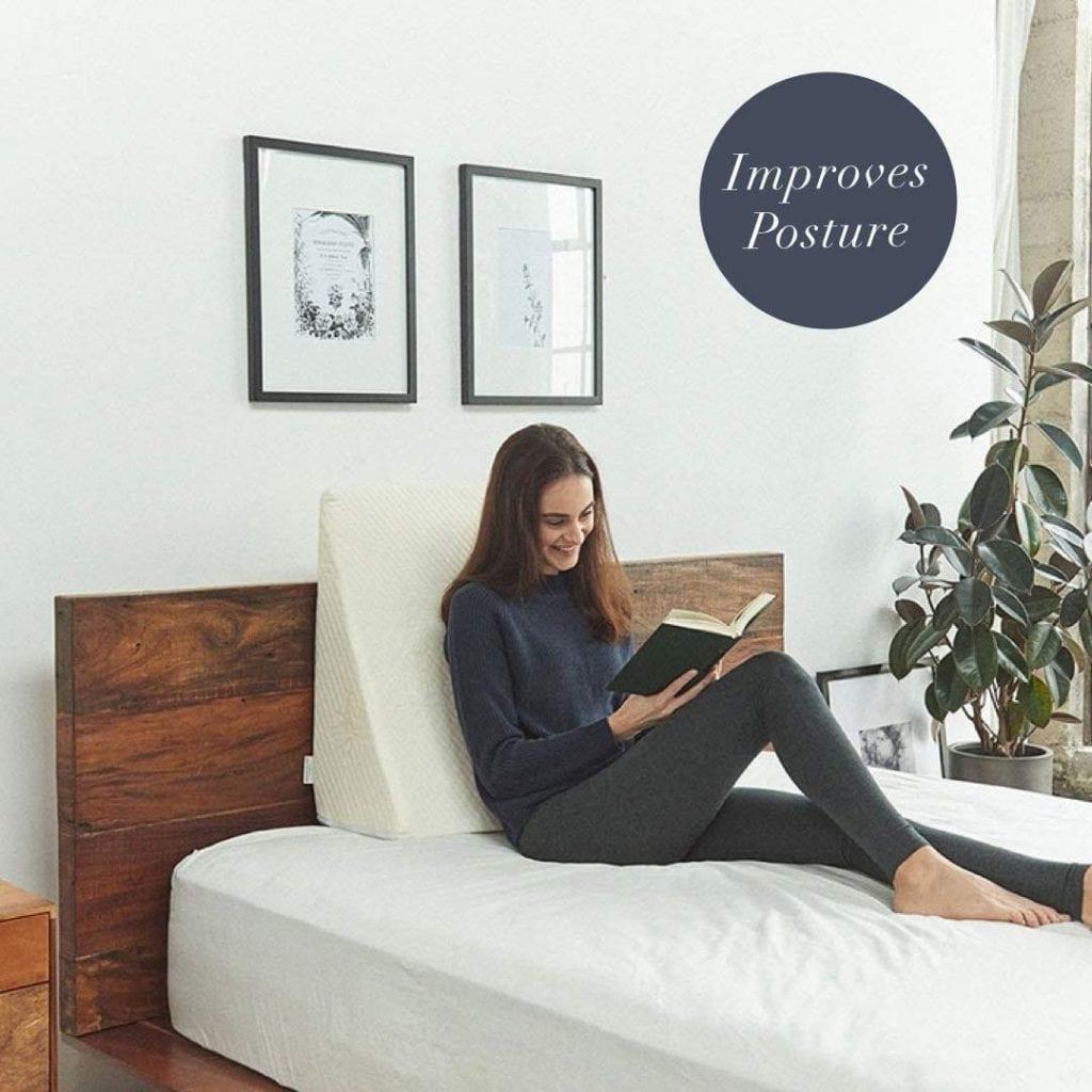 Best bamboo pillow wedge