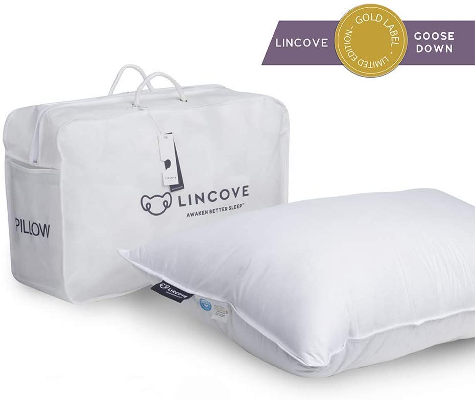 Lincove luxury best goose pillow pillow