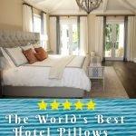 best hotel pillow reviews