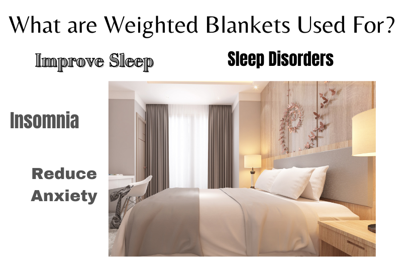 What are weighted blankets used for