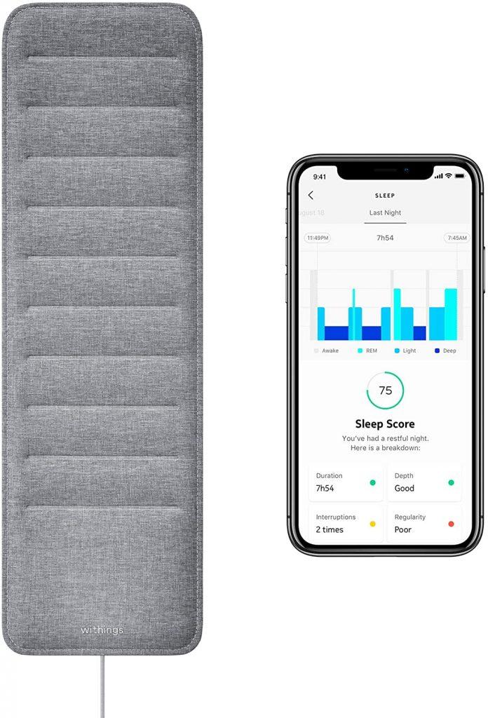 Withings smart sleep pad