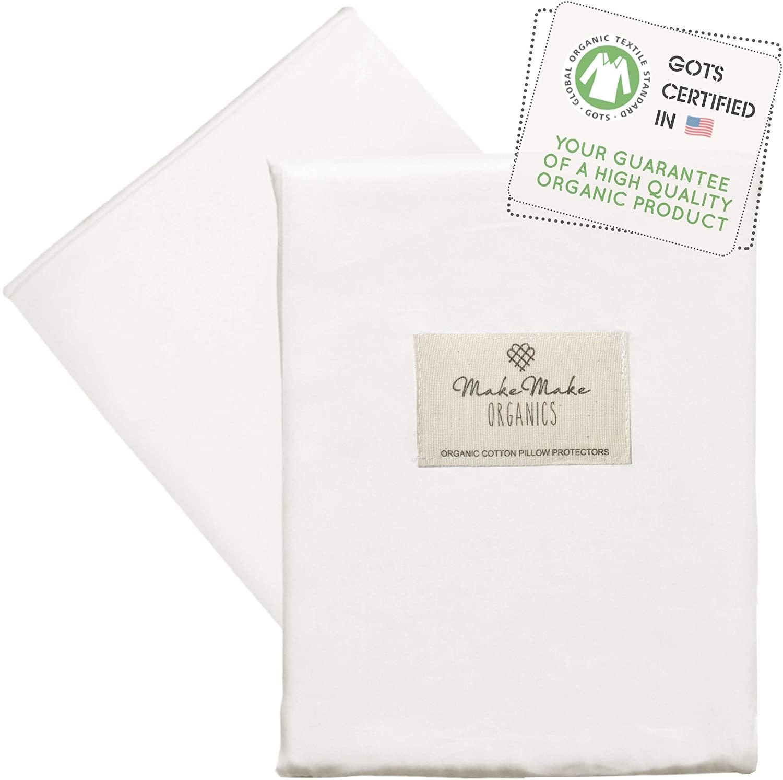 Organic pillow protector