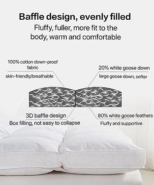 best feather bed topper
