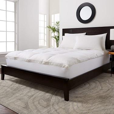 best feather mattress topper