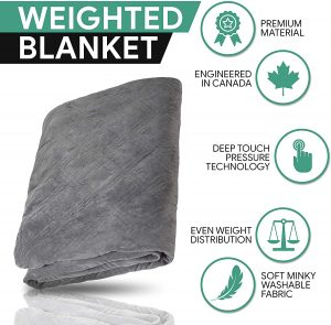 how does a weighted blanket work